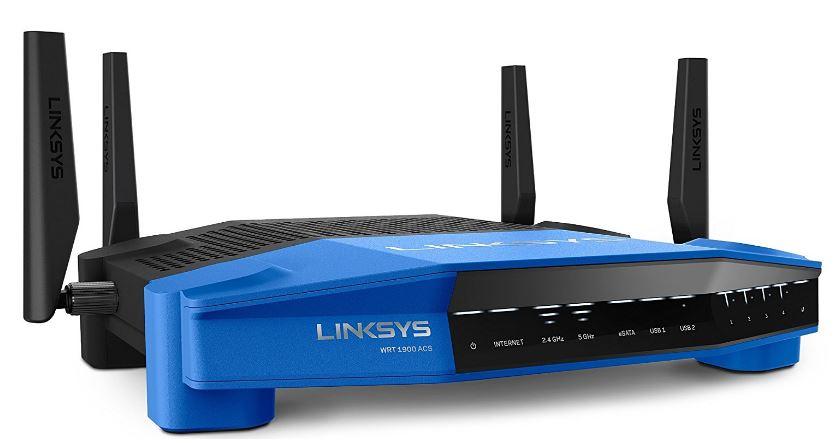 Linksys AC1900 Dual Band Open Source WiFi Wireless Router (WRT1900ACS)