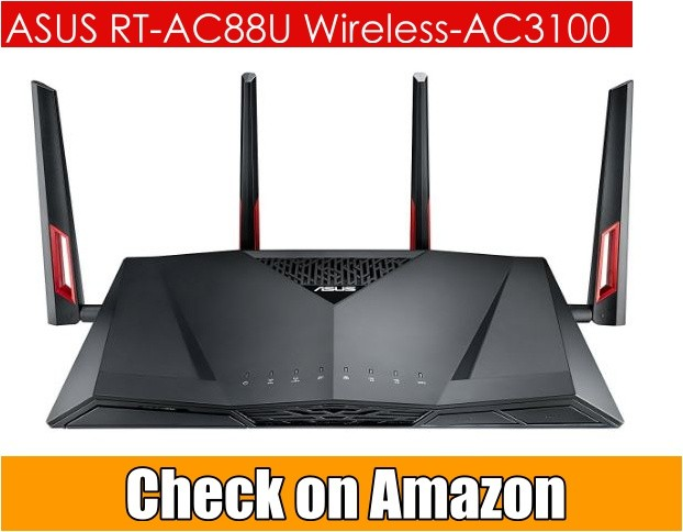 Asus RT AC88U AC 3100 Dual Bank Wifi Router